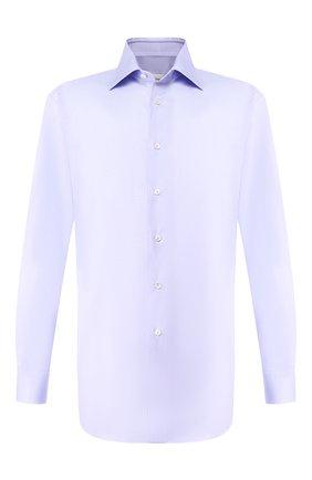 Мужская хлопковая сорочка BRIONI сиреневого цвета, арт. RCLU1R/P90B4 | Фото 1