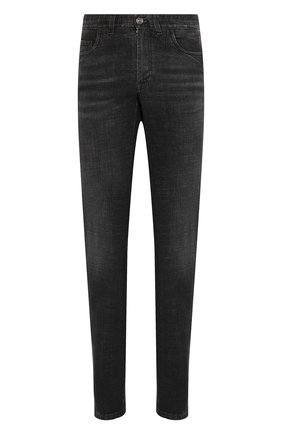 Мужские джинсы BRIONI черного цвета, арт. SPNJ0L/P9D12/STELVI0 | Фото 1