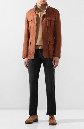 Мужские джинсы BRIONI черного цвета, арт. SPNJ0L/P9D12/STELVI0 | Фото 2