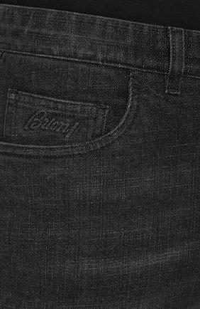 Мужские джинсы BRIONI черного цвета, арт. SPNJ0L/P9D12/STELVI0 | Фото 5