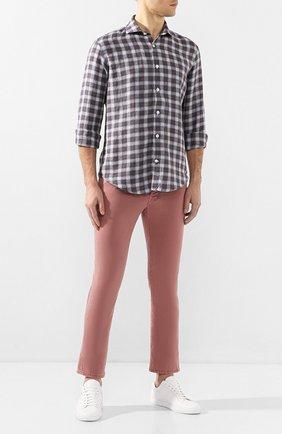 Мужские джинсы JACOB COHEN бордового цвета, арт. J688 C0MF 01831-V/53   Фото 2