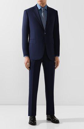 Мужской шерстяной костюм ZILLI синего цвета, арт. MMT-P212Z-20571/M661 | Фото 1