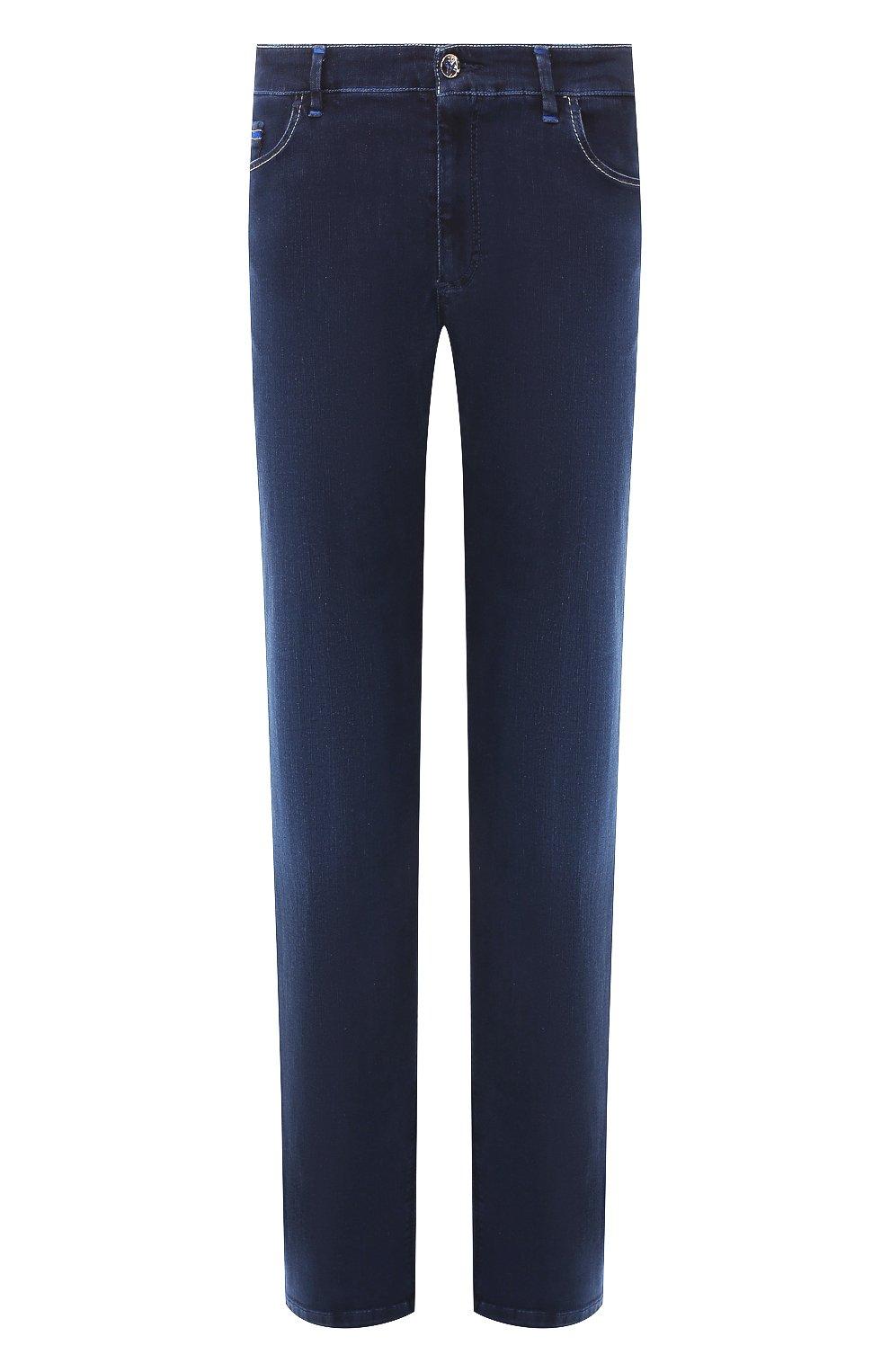 Мужские джинсы ZILLI синего цвета, арт. MCT-00011-HCBL1/R001 | Фото 1