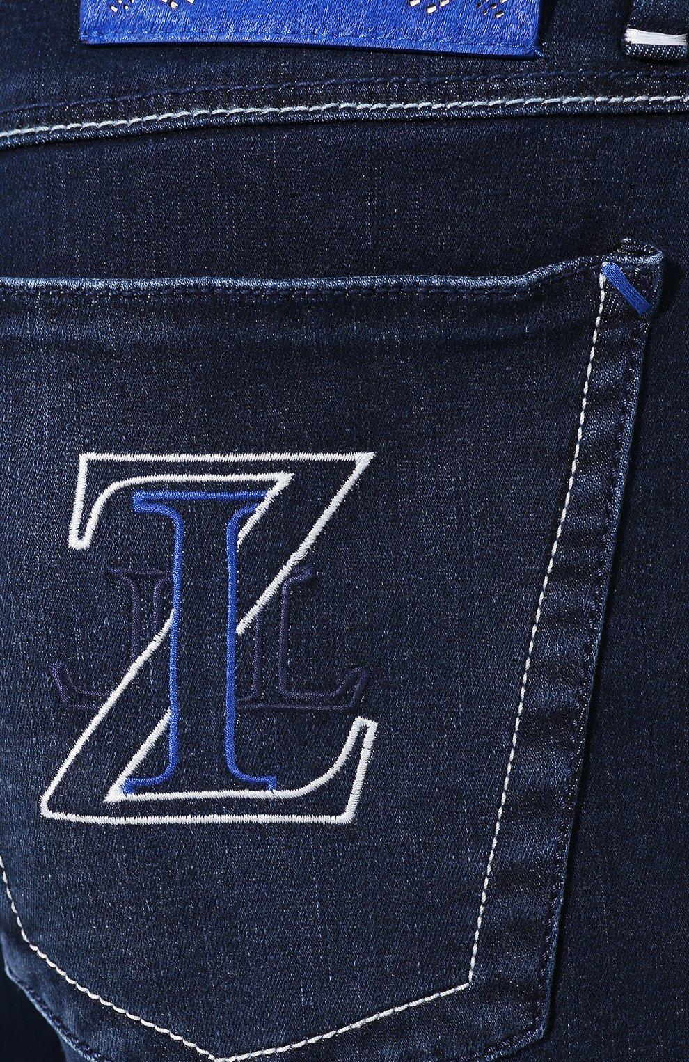 Мужские джинсы ZILLI синего цвета, арт. MCT-00011-HCBL1/R001 | Фото 5