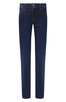 Мужские джинсы ZILLI синего цвета, арт. MCT-00010-HCBL1/S001 | Фото 1