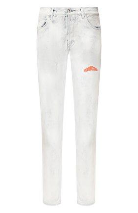 Мужские джинсы HERON PRESTON белого цвета, арт. HMYA001S20641006W219 | Фото 1
