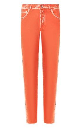 Мужские джинсы HERON PRESTON оранжевого цвета, арт. HMYA001S209120071900 | Фото 1
