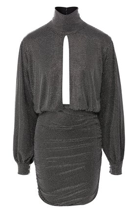 Женское платье PHILIPP PLEIN серебряного цвета, арт. S20C WRG1450 PTE003N | Фото 1