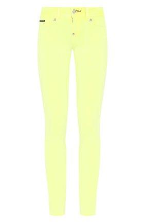 Женские джинсы PHILIPP PLEIN желтого цвета, арт. S20C WDT1313 PDE004N | Фото 1