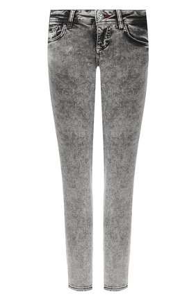 Женские джинсы PHILIPP PLEIN серого цвета, арт. S20C WDT1313 PDE004N | Фото 1