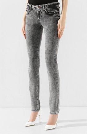 Женские джинсы PHILIPP PLEIN серого цвета, арт. S20C WDT1313 PDE004N | Фото 3