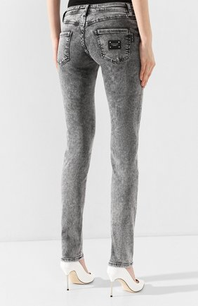 Женские джинсы PHILIPP PLEIN серого цвета, арт. S20C WDT1313 PDE004N | Фото 4