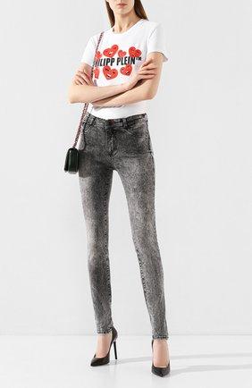 Женские джинсы PHILIPP PLEIN серого цвета, арт. S20C WDT1337 PDE004N | Фото 2