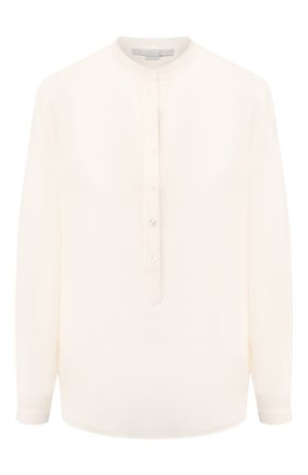 Женская шелковая блузка STELLA MCCARTNEY белого цвета, арт. 531885/SY206 | Фото 1