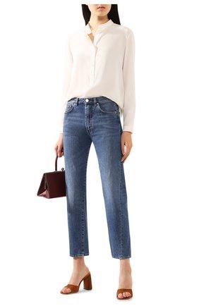 Женская шелковая блузка STELLA MCCARTNEY белого цвета, арт. 531885/SY206 | Фото 2