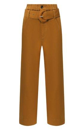 Женские хлопковые брюки PROENZA SCHOULER WHITE LABEL хаки цвета, арт. WL2016052-AC109 | Фото 1