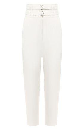 Женские брюки из смеси вискозы и льна PROENZA SCHOULER белого цвета, арт. R2016007-BY155 | Фото 1