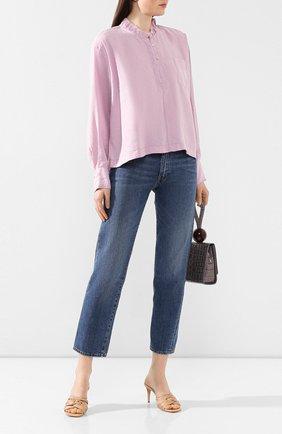 Женская блузка FORTE_FORTE сиреневого цвета, арт. 7040 | Фото 2