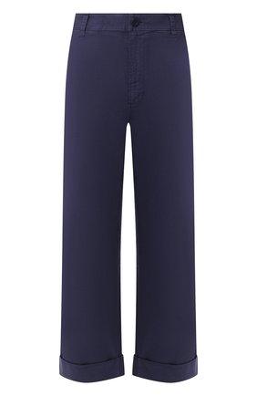Женские хлопковые брюки J BRAND синего цвета, арт. JB002661 | Фото 1