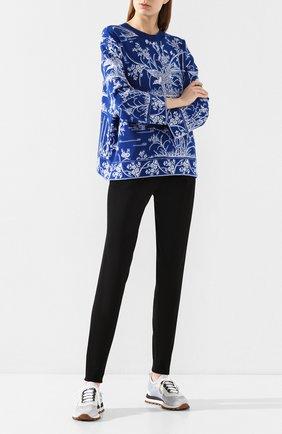 Женские хлопковые брюки TAK.ORI черного цвета, арт. PTK50019WV100SS20 | Фото 2