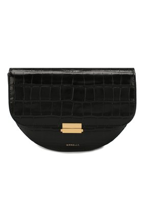 Женская сумка anna WANDLER черного цвета, арт. ANNA BELT BAG BIG CR0C0 | Фото 1