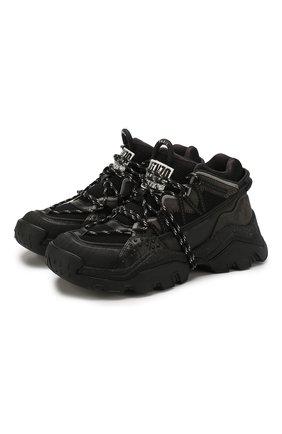 Комбинированные кроссовки Inka | Фото №1