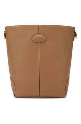 Женская сумка TOD'S бежевого цвета, арт. XBWDBAE0200XPA | Фото 1