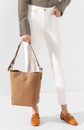 Женская сумка TOD'S бежевого цвета, арт. XBWDBAE0200XPA | Фото 2