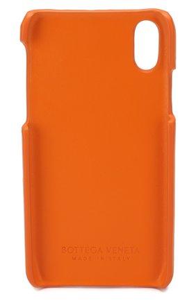 Мужской чехол для iphone x/xs BOTTEGA VENETA оранжевого цвета, арт. 592060/VCPP2 | Фото 2