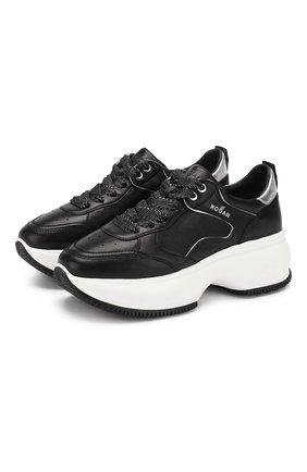 Кожаные кроссовки Maxi Active | Фото №1