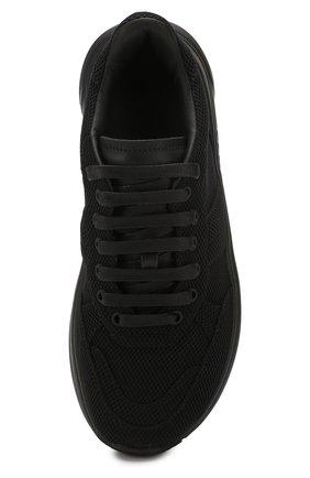 Женские комбинированные кроссовки speedster BOTTEGA VENETA черного цвета, арт. 608944/VBRZ1 | Фото 5