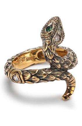 Кольцо One round snake | Фото №1