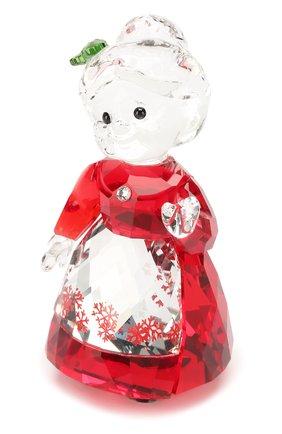 Мужская статуэтка mrs. claus SWAROVSKI красного цвета, арт. 5464887 | Фото 1