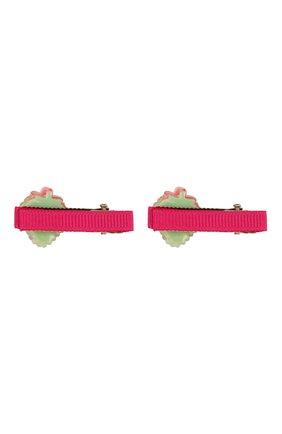 Детская комплект из 2-х заколок shiny strawberry JUNEFEE разноцветного цвета, арт. 6118 | Фото 2