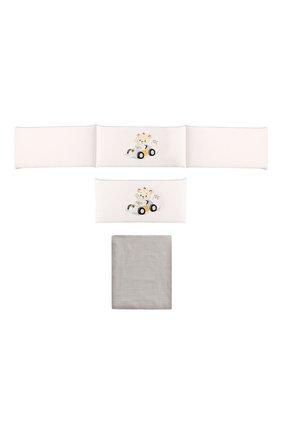 Детского комплект для кровати A&A BABY GLAM белого цвета, арт. RTB WB 12565 0218 | Фото 1