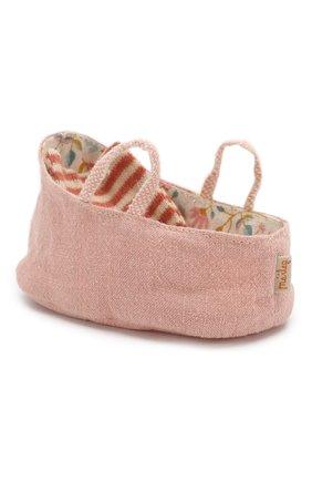 Детского переносная люлька для новорожденных MAILEG розового цвета, арт. 11-9403-00 | Фото 1