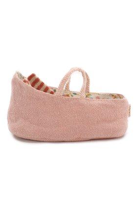 Детского переносная люлька для новорожденных MAILEG розового цвета, арт. 11-9403-00 | Фото 2