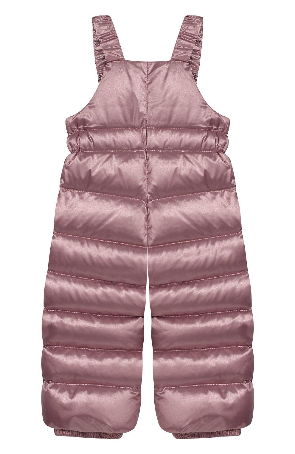 Детского комплект из пуховой куртки и комбинезона сиреневый сад CHEPE разноцветного цвета, арт. 392222 | Фото 3
