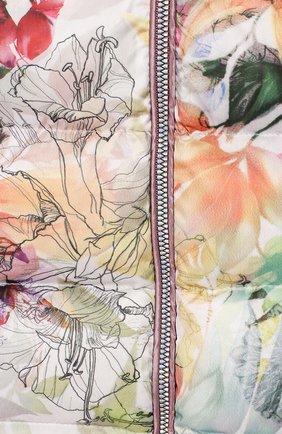 Детского комплект из пуховой куртки и комбинезона сиреневый сад CHEPE разноцветного цвета, арт. 392222 | Фото 6