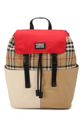 Детская рюкзак BURBERRY разноцветного цвета, арт. 8023904 | Фото 1