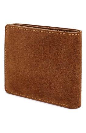 Мужской замшевый футляр для кредитных карт RRL светло-коричневого цвета, арт. 417687395 | Фото 2