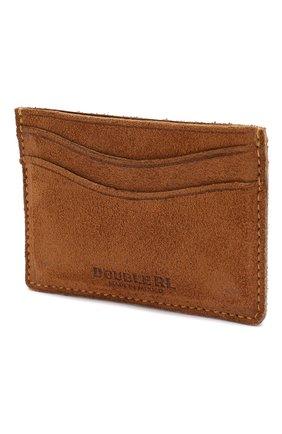 Мужской замшевый футляр для кредитных карт RRL светло-коричневого цвета, арт. 417702706 | Фото 2
