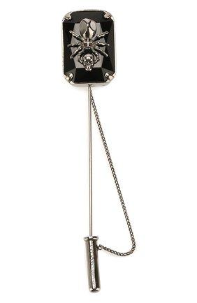 Мужская булавка для галстука ALEXANDER MCQUEEN серебряного цвета, арт. 585458/I94VY | Фото 1