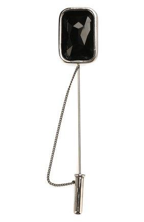 Мужская булавка для галстука ALEXANDER MCQUEEN серебряного цвета, арт. 585458/I94VY | Фото 2