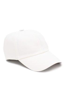 Мужской шерстяная бейсболка Z ZEGNA белого цвета, арт. ZEI60/B7R | Фото 1