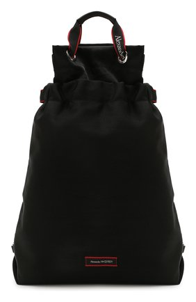 Мужской текстильный рюкзак ALEXANDER MCQUEEN черного цвета, арт. 610673/HUP6N | Фото 1