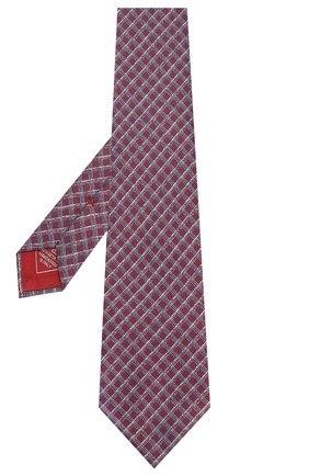 Мужской шелковый галстук BRIONI бордового цвета, арт. 062H00/P9430 | Фото 2