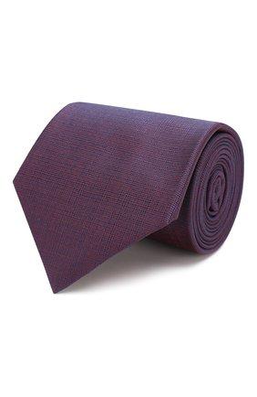 Мужской шелковый галстук BRIONI фиолетового цвета, арт. 062H00/P9445 | Фото 1