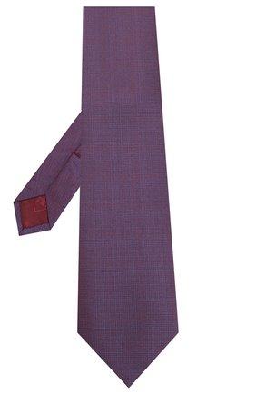 Мужской шелковый галстук BRIONI фиолетового цвета, арт. 062H00/P9445 | Фото 2