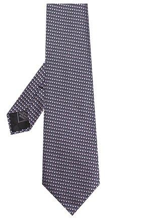Мужской шелковый галстук BRIONI сиреневого цвета, арт. 062H00/P9458 | Фото 2
